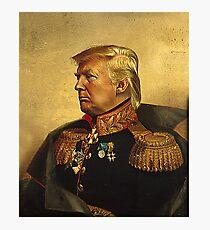 Lámina fotográfica Dios emperador Trump