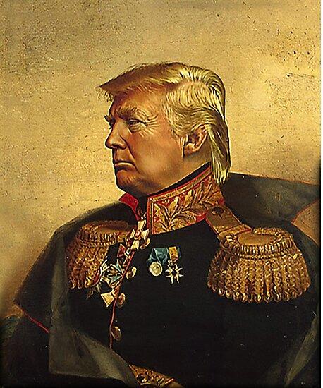 God Emperor Trump by bingosdesigns