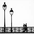 The Couple on the Bridge by cclaude