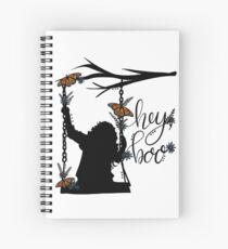 To Kill A Mockingbird, inspired silloette - Hey, Boo. Spiral Notebook