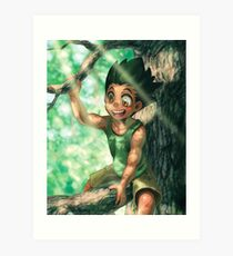 Sweet Potato Sunshine Child Art Print