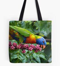 Rainbow Lorikeet (Trichoglossus haematodus) Tote Bag