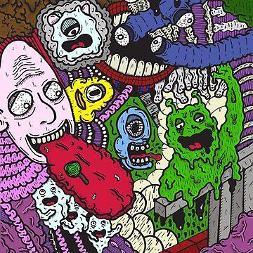 Acid Trip Chaos by SandyFloss