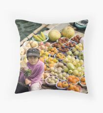 Halong Bay Throw Pillow