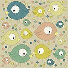 Retro Birds von joannazoelzer