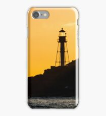 New Point Loma Lighthouse at Sunset iPhone Case/Skin