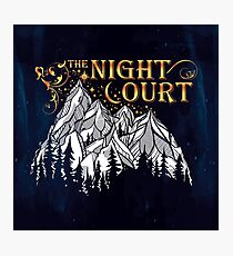 A Court of Wings and Ruin, The Night Court Photographic Print