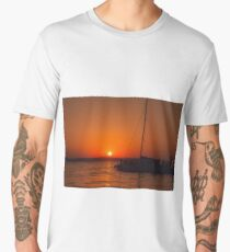 Sunset and Silhouette Men's Premium T-Shirt