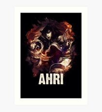 League of Legends AHRI Art Print