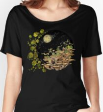 Village || Surreal Illustration by Chrysta Kay Women's Relaxed Fit T-Shirt