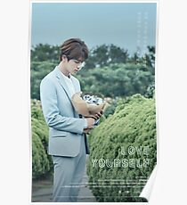 BTS (방탄소년단) LOVE YOURSELF - Jin (진) Poster