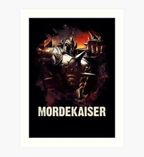 League of Legends MORDEKAISER Art Print