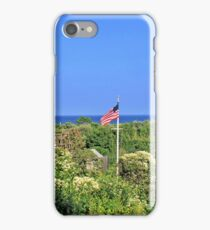 Nantucket Cottages Overlooking The Sea In Siasconset iPhone Case/Skin