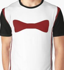 11th Doctor Bow Tie and Suspenders Graphic T-Shirt