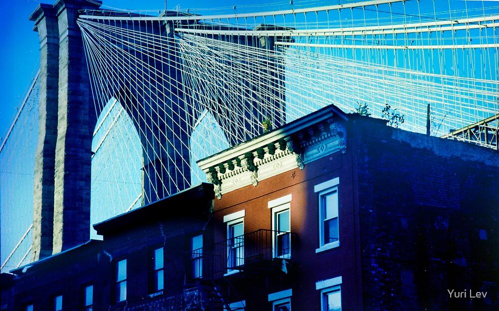 Brooklyn Bridge by Yuri Lev