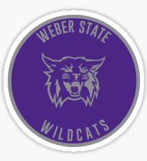Weber State University - Wildcats Sticker