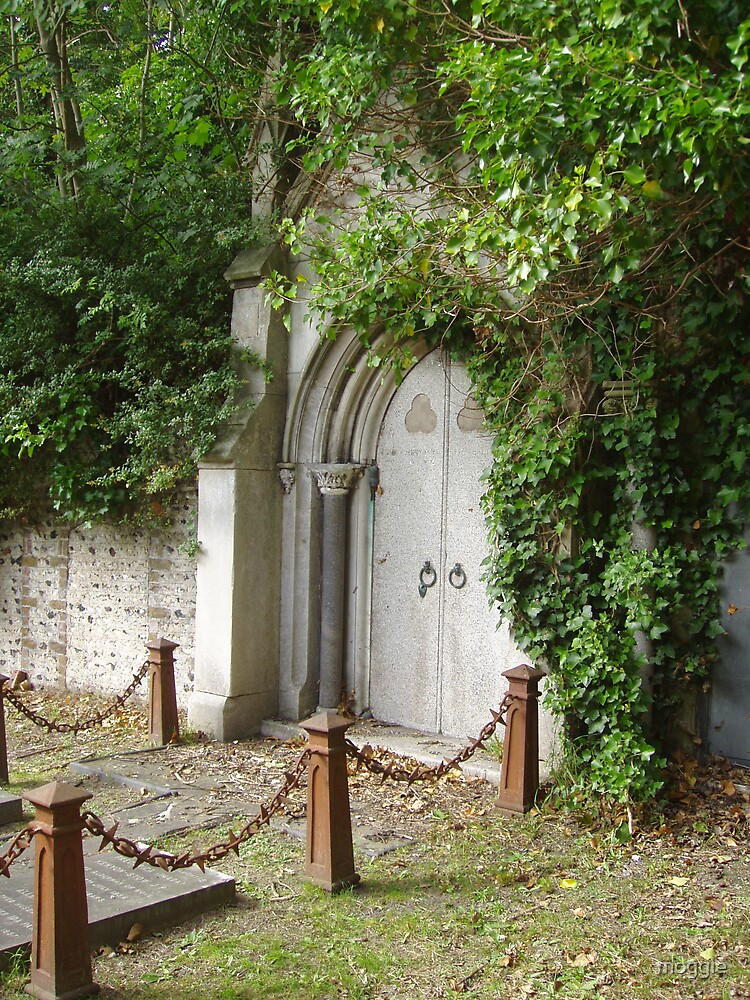 Woodvale Crypt Door by moggie