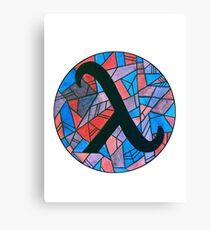 lambda Canvas Print
