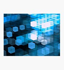 Sci-fi or technology fractal pattern Photographic Print
