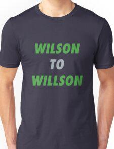 Wilson to Willson Unisex T-Shirt