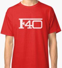 Ferarri - F40 logo Classic T-Shirt