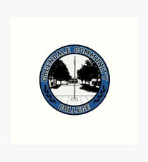 Greendale - Logo Art Print