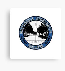 Greendale - Logo Canvas Print