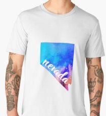 Nevada - Watercolor  Men's Premium T-Shirt