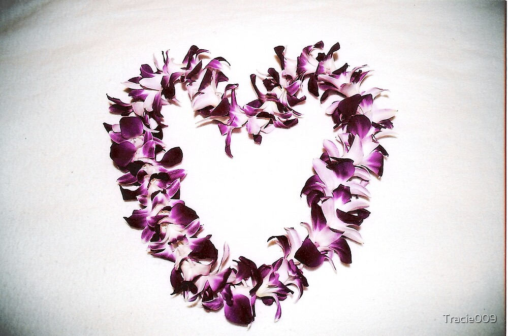 A purple heart by Tracie009