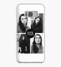 Katie McGrath Squares Samsung Galaxy Case/Skin