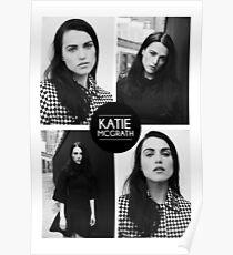 Katie McGrath Squares Poster