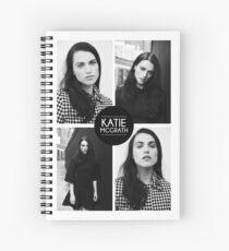 Katie McGrath Squares Spiral Notebook