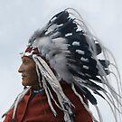 Lazy Boy - Blackfoot Indian Chief by DanKeller