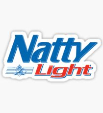 Natty Light Sticker