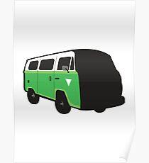 VW Combi Poster
