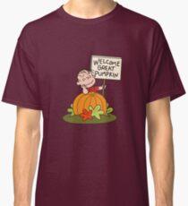 Welcome Great Pumpkin Classic T-Shirt