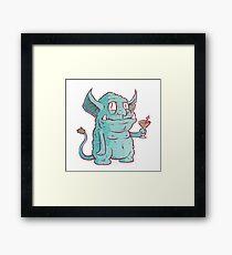 Drunk Goblin Framed Print
