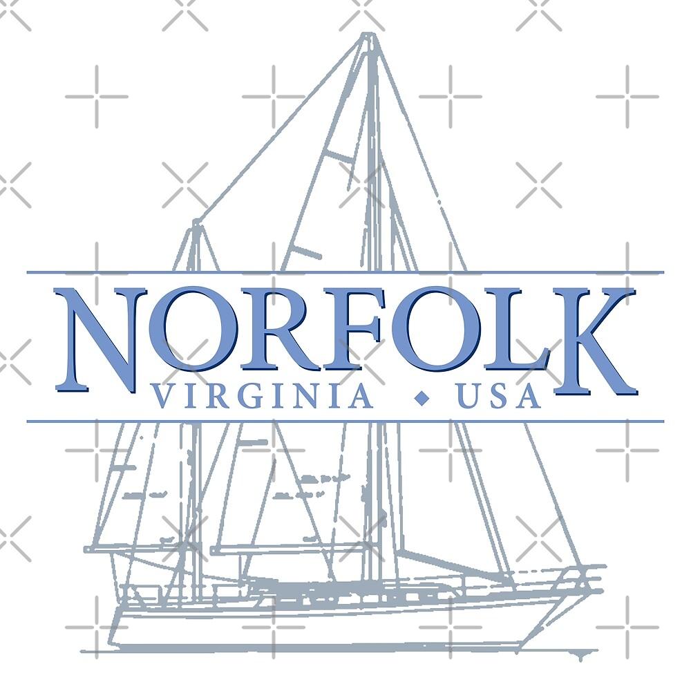 Norfolk Virginia by Futurebeachbum