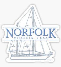 Norfolk Virginia Sticker