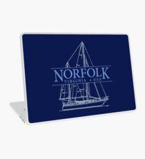 Norfolk Virginia Laptop Skin