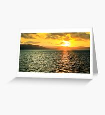 Airlie sunset Greeting Card