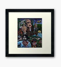 Bad Taste (Peter Jackson) Framed Print