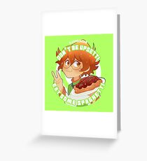 Don't Be Upsetti Have Some Spaghetti! Greeting Card