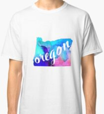 Oregon - watercolor  Classic T-Shirt