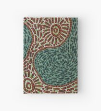 Flow and Pop Pattern Hardcover Journal