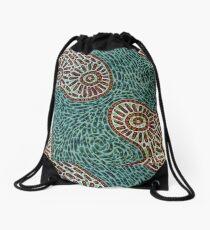 Flow and Pop Pattern Drawstring Bag
