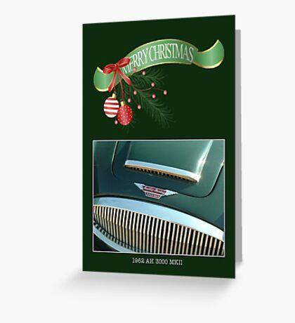 Merry Christmas! (AH.) Greeting Card