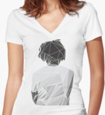 J. Cole - For Your Eyez Only Women's Fitted V-Neck T-Shirt