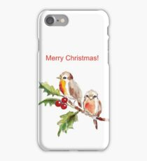Merry Christmas to you! iPhone Case/Skin