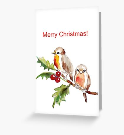 Merry Christmas to you! Greeting Card
